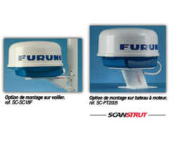 Radar Furuno M1623 options de montage