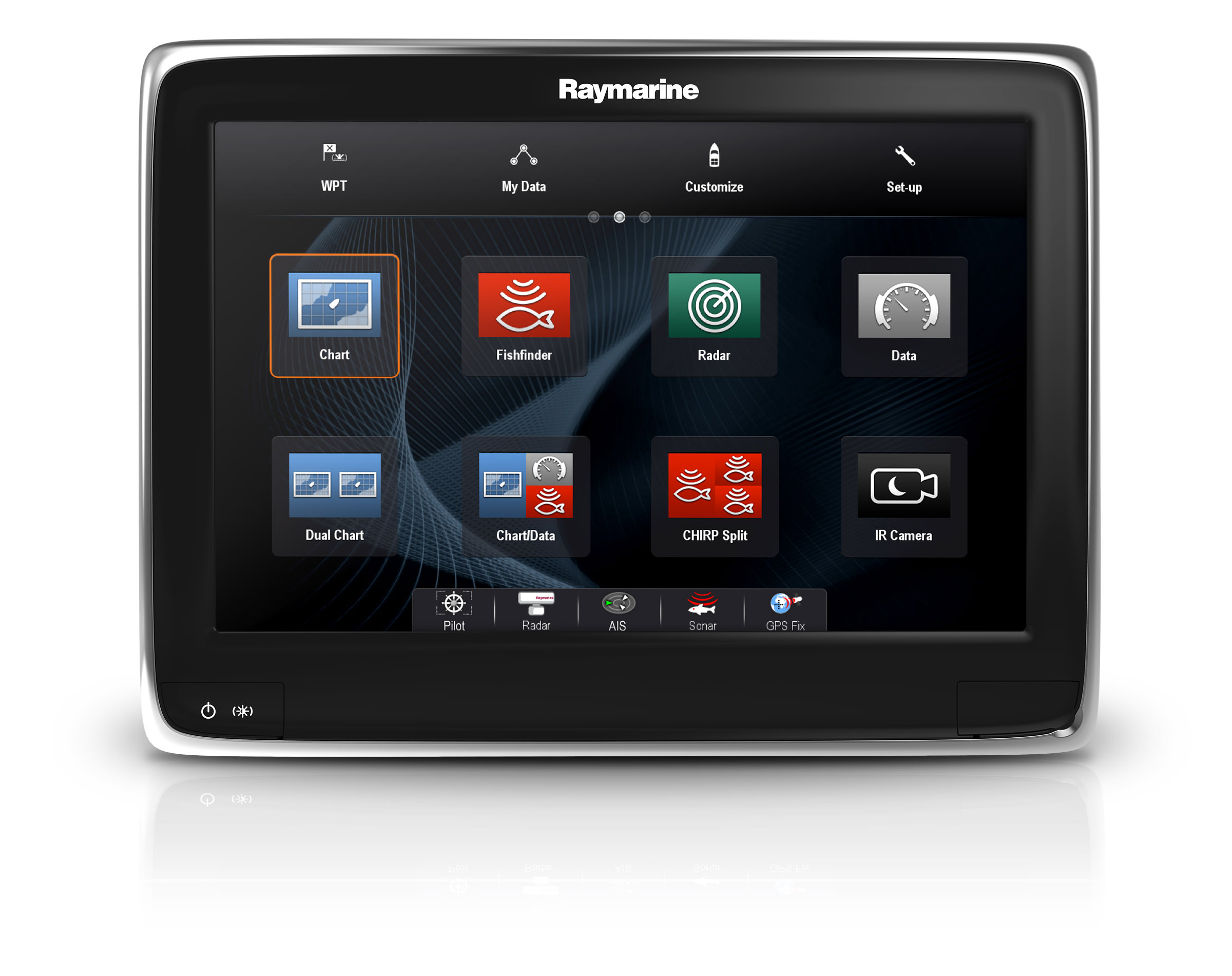 raymarine gps traceur s rie a tactile wifi. Black Bedroom Furniture Sets. Home Design Ideas